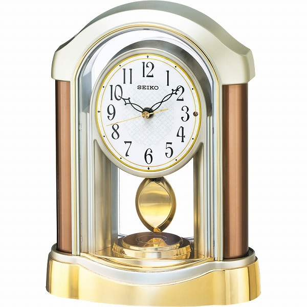 【景品 現物】セイコー 電波置時計 BZ238B