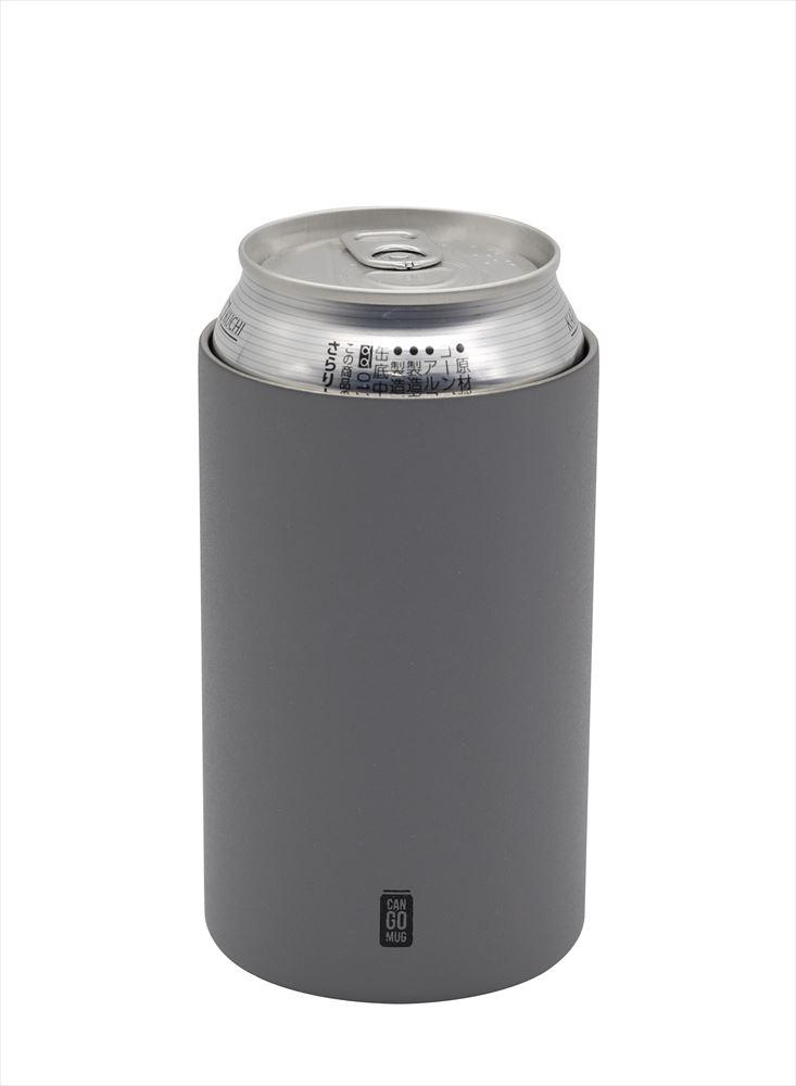缶ジュース缶ビールホルダーとして使える保温保冷タンブラー 35%OFF シービージャパン CANGOMUG350 グレー 保温保冷 新商品 4573306865193 缶ジュースホルダー