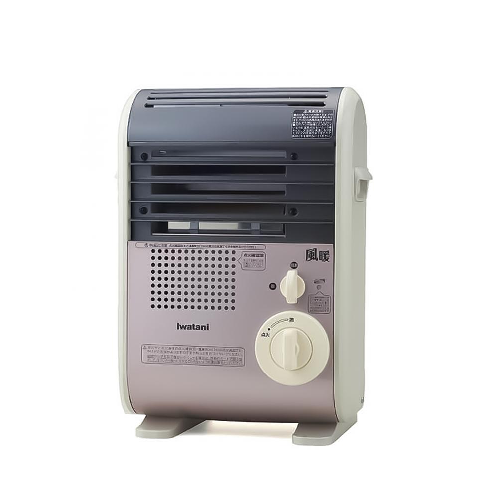 小型軽量で移動もラクラク 【あす楽対象商品】Iwatani(イワタニ) カセットガスファンヒーター 風暖 CB-GFH-3 ライトローズ 4901140905117