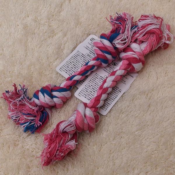 ポンポリース デンタルロープ 2個セット 【小型犬用】【おもちゃ】【犬猫用品】【ロープ】【デンタルケア】