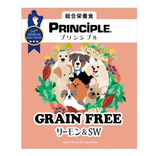 PrinciPLE プリンシプル グレインフリー サーモン&SW 9kg 【ナチュラルドッグフード】【犬用ドライフード】
