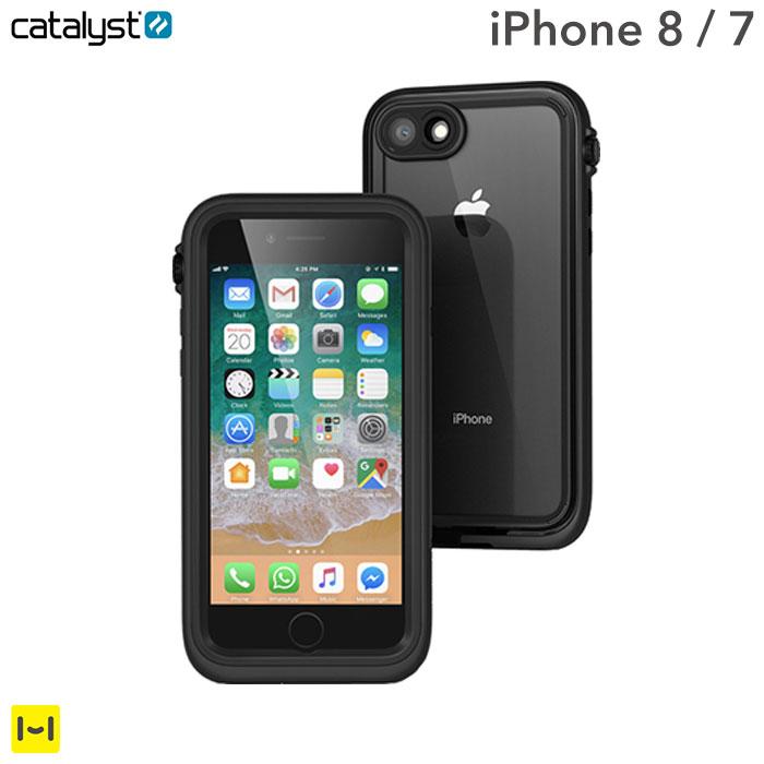 iPhone7 iphone8 耐衝撃ケース catalyst カタリスト 防水iPhoneケース (ブラック) 【 スマホケース アイフォン7 アイフォン8 ケース iphone7ケース 衝撃 ハードケース iPhoneケース 】