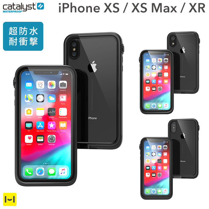 sports shoes 90db3 a94d7 [for exclusive use of iPhone XS/XS Max/XR] catalyst カタリスト waterproofing  iPhone case (black)