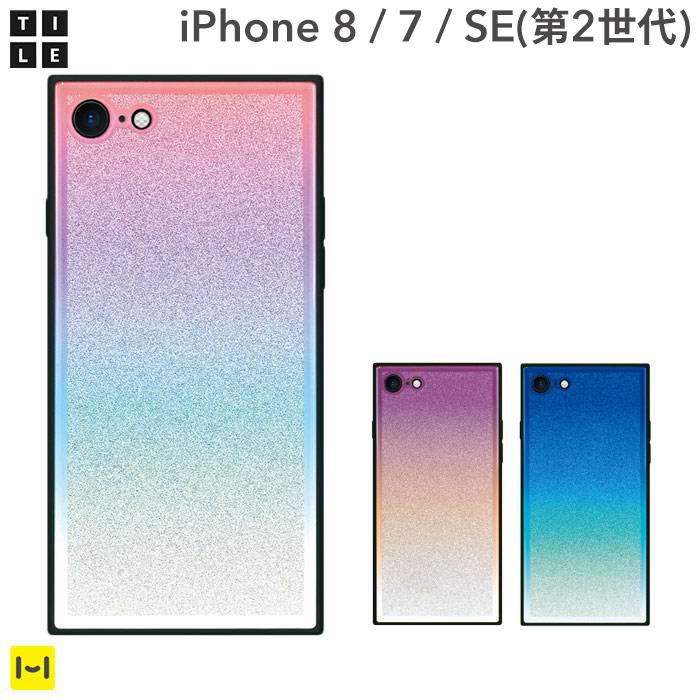 iPhone8 iPhone7 case EYLE square type iPhone case TILE gradation series