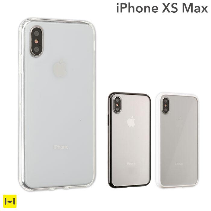 楽天市場】iphone xs max ケース サイドカラード クリア ハイブリッド ...