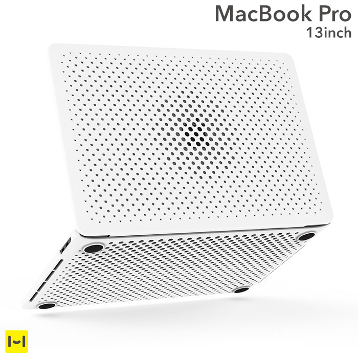 brand new 47abe 62862 [for exclusive use of MacBook Pro 13 inches] AndMesh mesh case (white)