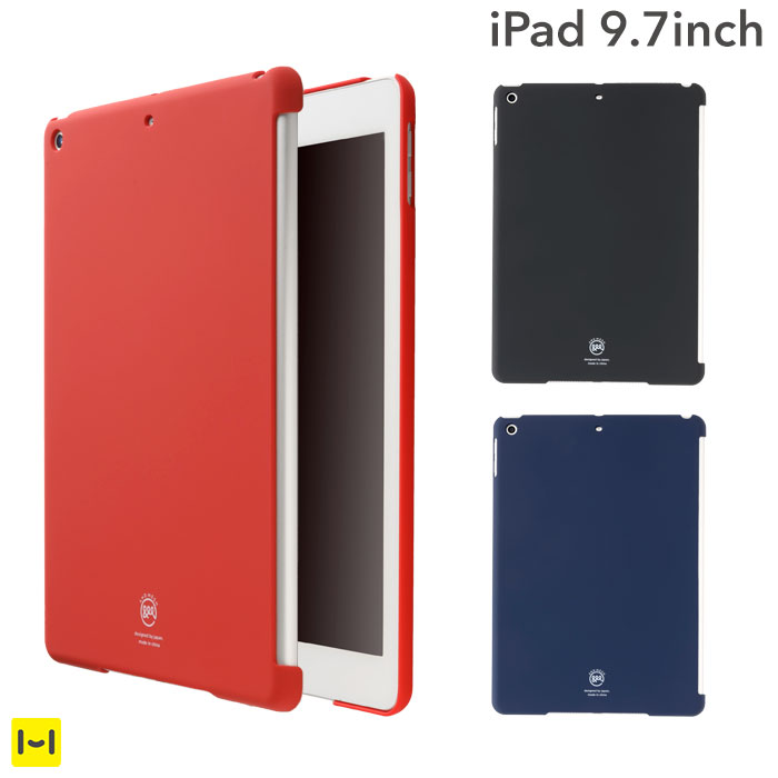 Apple純正のスマートカバーとも相性抜群 iPad 9.7 第6世代 第5世代 ケース 好評受付中 AndMesh ベーシック 限定タイムセール iPadケース 2018 レッド アンドメッシュ アイパッド おしゃれ 2017 カバー グレー ブルー ネイビー
