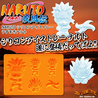 Silicone ice tray Uzumaki Naruto