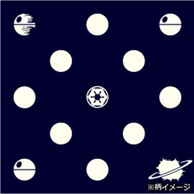 スターウォーズシルクナロータイ (death star X dot / blue)
