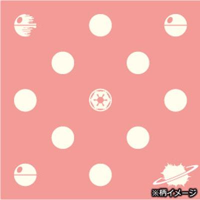 スターウォーズシルクナロータイ (death star X dot / pink)