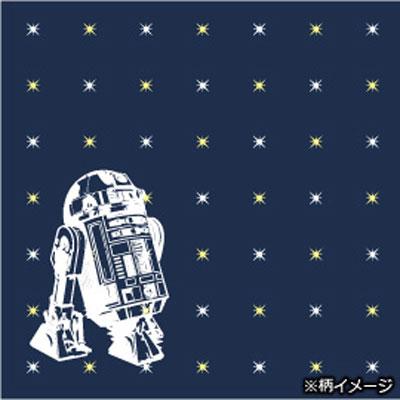 スターウォーズシルクナロータイ (R2-D2 X star / blue)