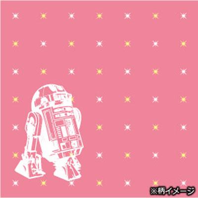 スターウォーズシルクナロータイ (R2-D2 X star / pink)