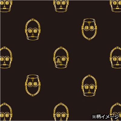 スターウォーズシルクナロータイ (C-3PO X fine pattern)