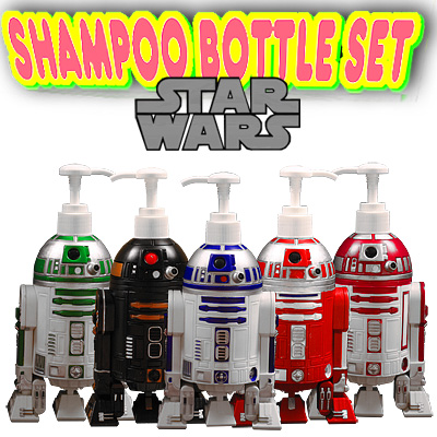 Five figure skating sets which super ★ rare & which was in movie STARWARS アストロメクドロイドシャンプーボトル R2-D2 is cheap, and are HOT
