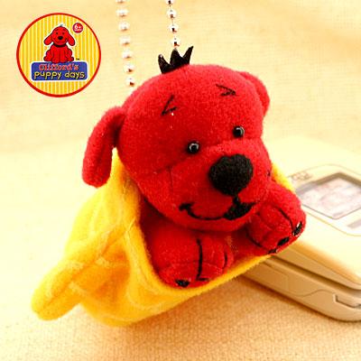 (Puppy Clifford) plush Keychain (Mittens) ( Keychain)