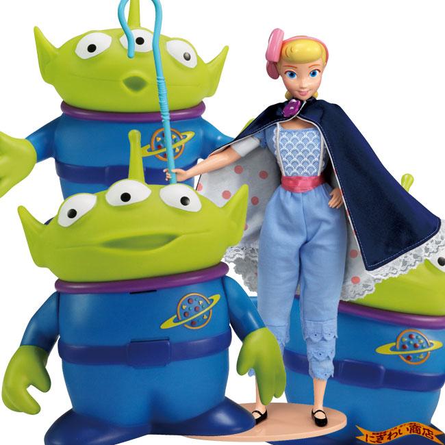 【お得なセット】ディズニー トイ・ストーリー4 リアルサイズトーキングフィギュア エイリアン セット / ボー・ピープ セット ( トイストーリー4 / Disney Pixer Toy Story4 )