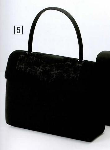 エトワール ブラックフォーマルバッグ コード刺繍バッグ 593-432