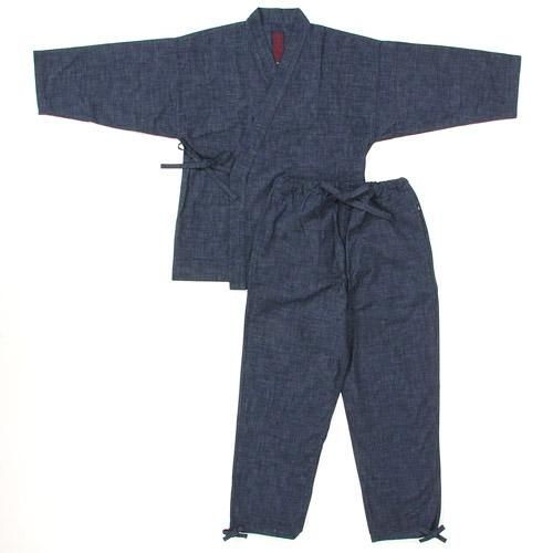 紳士 笹倉玄照堂 縞作務衣 和装 057-402