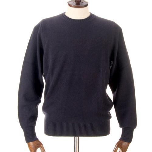 メンズ カシミヤ100% 丸首セーター 日本製 405-521
