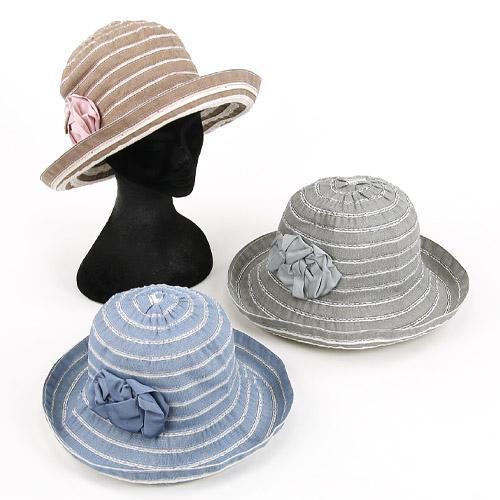 HATS&DREAMS デニム地 ブレードハット 帽子 664-512