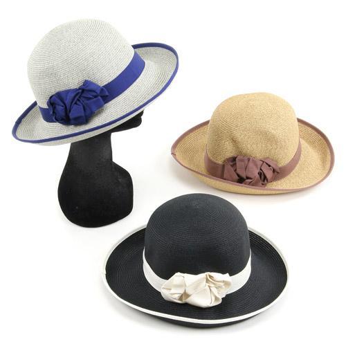 HATS&DREAMS ペーパーブレードハット 帽子 664-504