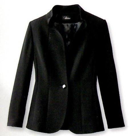 ブラックフォーマル ウエーブタックジャケット ソフティナベーシック V3-67324