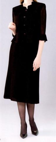 ブラックフォーマル 夏 ウォッシャブル スーツ V5-78383