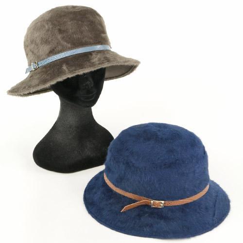 【予約販売】本 ANGIOLO FRASCONI ベルト巻きキャペリン 帽子 レディース イタリア製 664-068, modaMania 26c1b31b