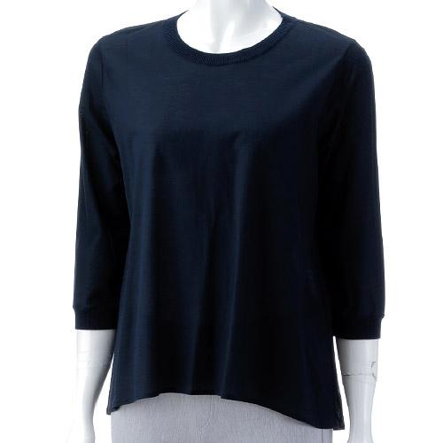 ジョワイユ スターチス 丸首7分袖Tシャツ 240-600