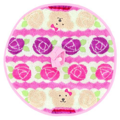 Keitoshugeiten: Rainbow bear rose Marsh mini round towel