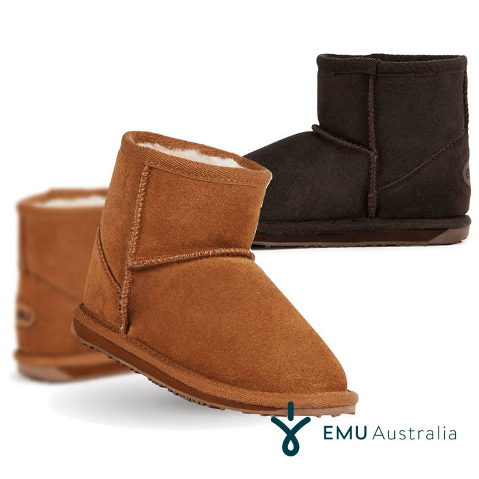 2019 Latest Design Emu Australia Kids Wallaby Mini Winter Real Sheepskin Boots To Rank First Among Similar Products Clothing, Shoes & Accessories