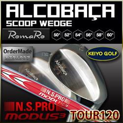ロマロ(RomaRo) アルコバッサ・スクープウェッジ (シャフト モーダス120)