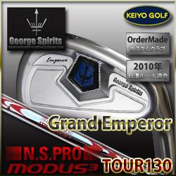 GeorgeSpirits(ジョージスピリッツ)Grand Emperor × N.S.PRO MODUS3 Tour130 アイアン #4単品