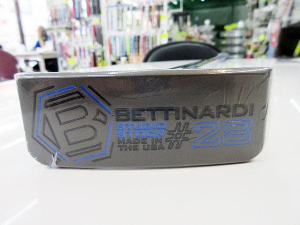BETTINARDI(ベティナルディ)スタジオストック SS28CS(センターシャフト)【34インチ】