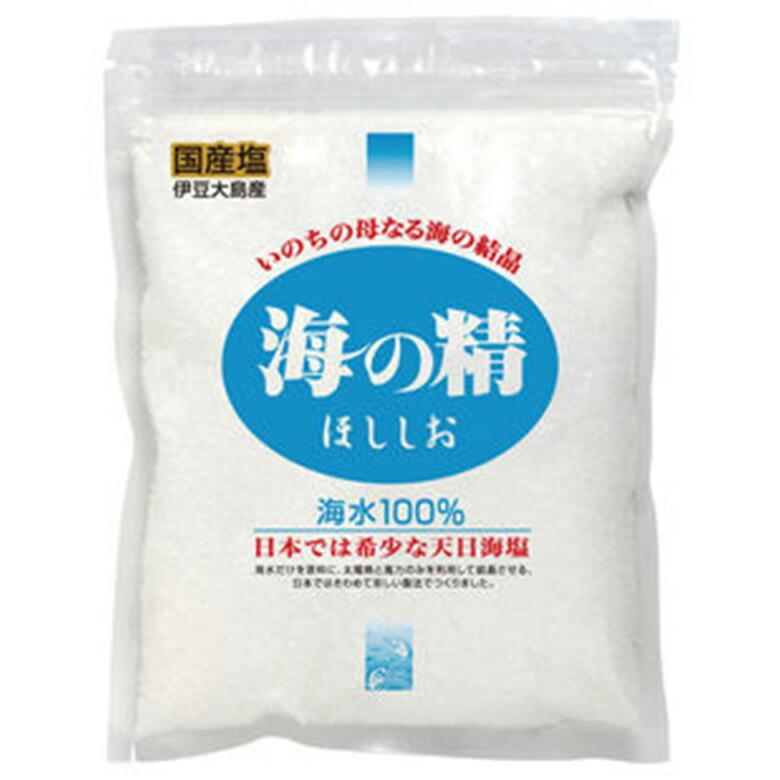 国産 塩 ほし塩 ランキングTOP10 調味料 海の精 天日採塩法 伊豆大島 海の精ほししお 青 干し塩 しお 1~3個はメール便対応可 240g 割り引き 2010427-msos