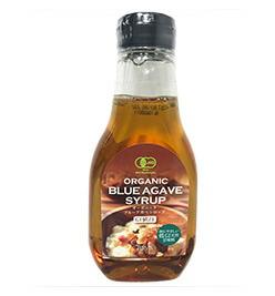 甘味料 天然シロップ 有機JAS認定 低GI値 有名な GI17 のオーガニック甘味料 砂糖の1.3倍の甘さ オーガニックブルーアガベシロップ 330g 砂糖の75%のカロリー くせのない味で幅広い応用が可能です 1004484-kf 優先配送 テルヴィス