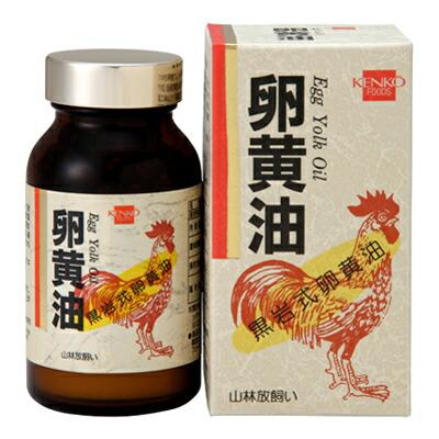 【健康フーズ】卵黄油 250粒