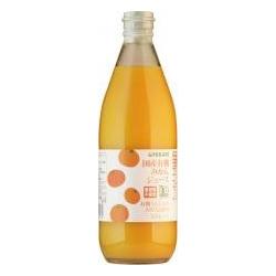 国産有機温州みかんを搾った果汁100%の有機JAS認証のみかんジュースです 送料込 美品 香料 保存料 着色料 酸味料は使用していません オレンジジュース 国産有機みかんジュース 2043428-ms ビン ヒカリ 610g