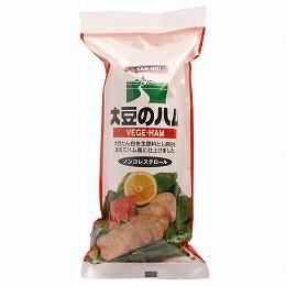 大豆たんぱく ハム コレステロールゼロ 植物性 保存料不使用 1006319-kfmssk 植物性たんぱく食品 奉呈 初売り 大豆のハム 三育フーズ 400g