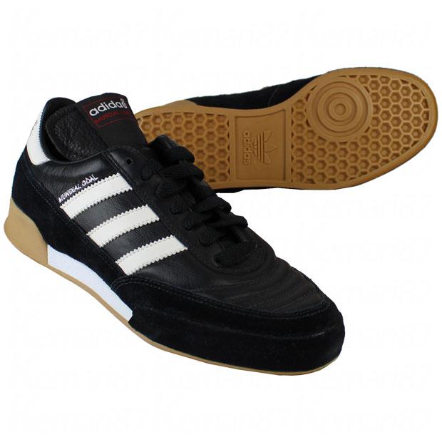 ムンディアルゴール ブラック×ランニングホワイト 【adidas|アディダス】フットサルシューズ019310