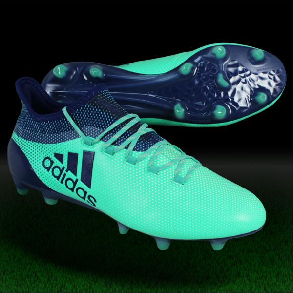 エックス 17.1 FG/AG エアログリーンS18×ユニティインクF16 【adidas アディダス】サッカースパイクcp9163