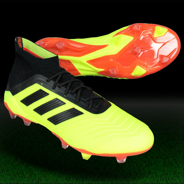 プレデター 18.1 FG/AG ソーラーイエロー×コアブラック 【adidas アディダス】サッカースパイクdb2037