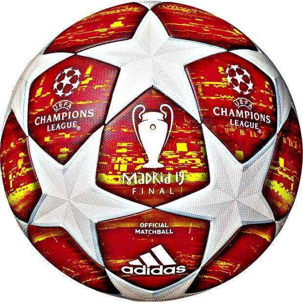 UEFAチャンピオンズリーグ 2018-2019 決勝トーナメント公式試合球 フィナーレマドリード 【adidas|アディダス】サッカーボール5号球af5400ma