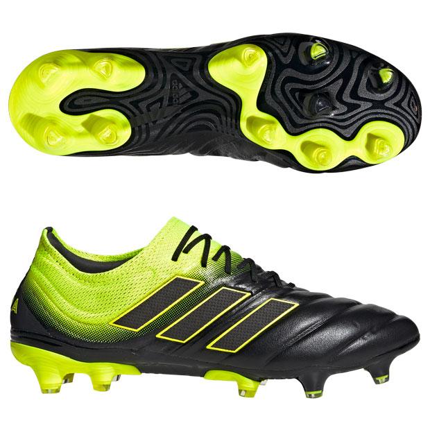 コパ 19.1 FG/AG コアブラック×ソーラーイエロー 【adidas|アディダス】サッカースパイクbb8088