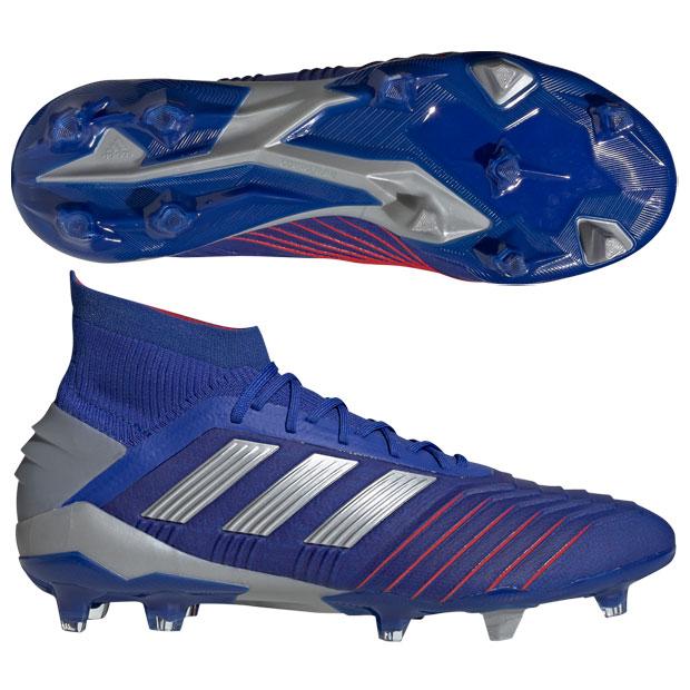 プレデター 19.1 FG/AG ボールドブルー×シルバーメット 【adidas|アディダス】サッカースパイクbb9079