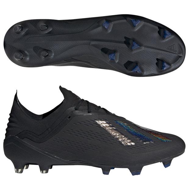 エックス 18.1 FG/AG コアブラック×コアブラック 【adidas|アディダス】サッカースパイクbb9346
