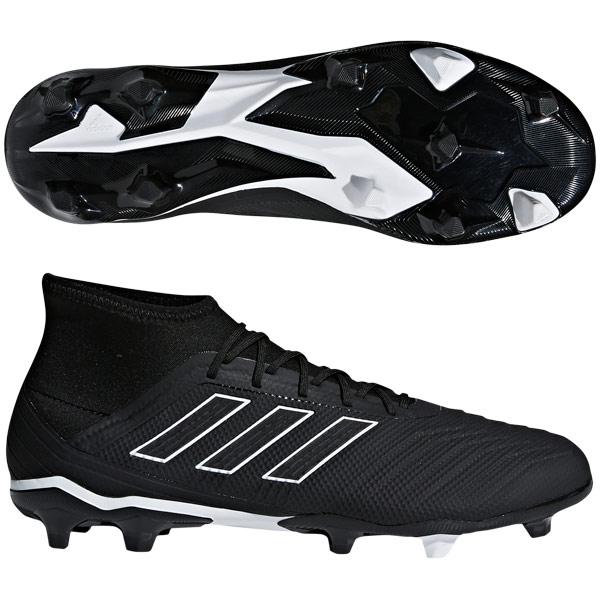 プレデター 18.2 FG/AG コアブラック×コアブラック 【adidas アディダス】サッカースパイクdb1996