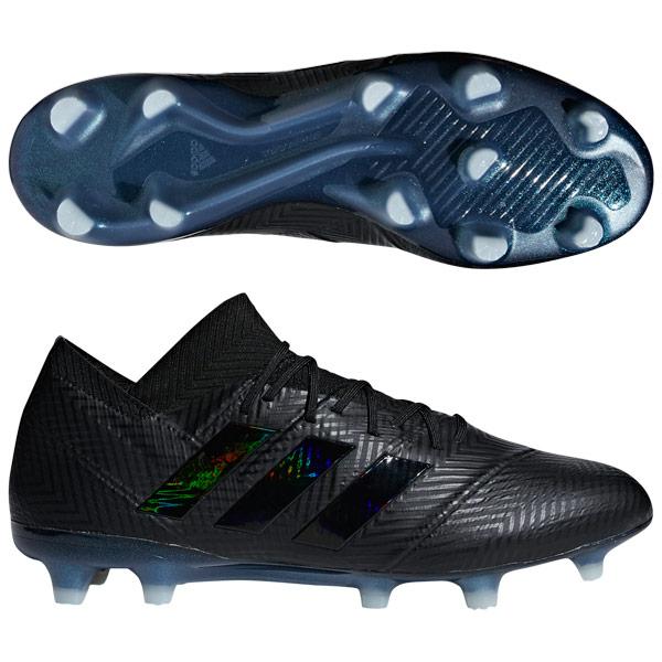 ネメシス 18.1 FG/AG コアブラック×コアブラック 【adidas アディダス】サッカースパイクdb2078