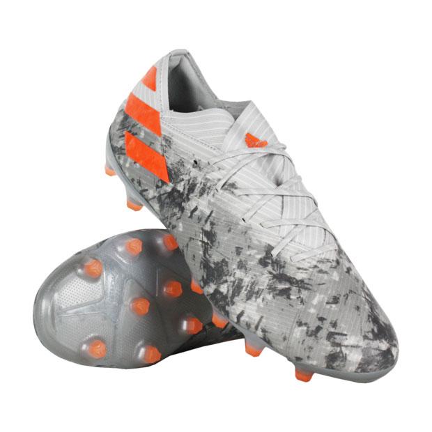 ネメシス 19.1 AG グレーTWO F17×ソーラーオレンジ 【adidas|アディダス】サッカースパイクef9034