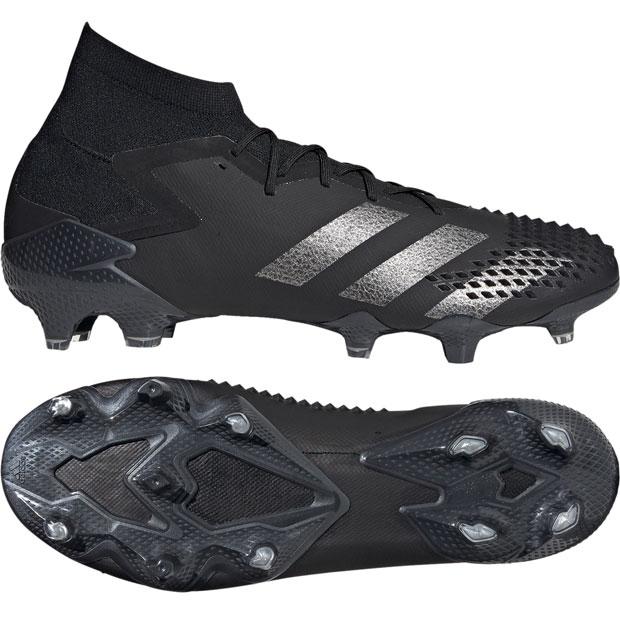 プレデター 20.1 FG コアブラック×シルバーメタリック 【adidas|アディダス】サッカースパイクef1612